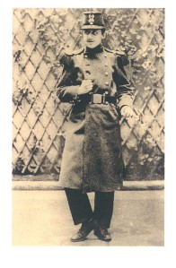 Proust in his military uniform